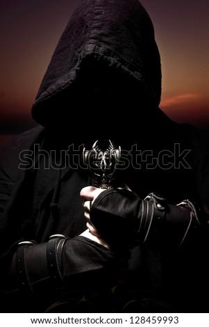 assassin - stock photo