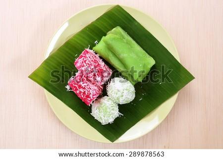 malaysian kuih assorted pastry onde sagu shutterstock