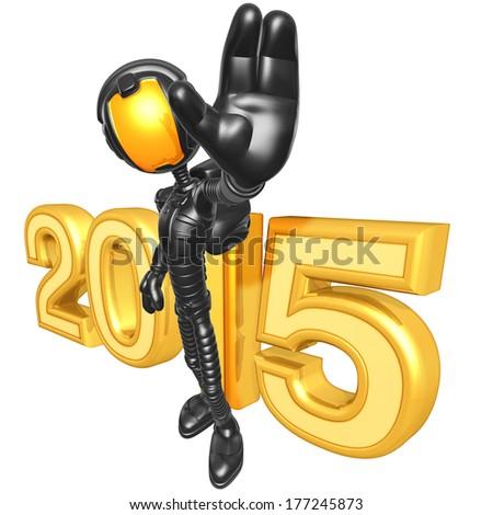 Astronaut 2015 - stock photo