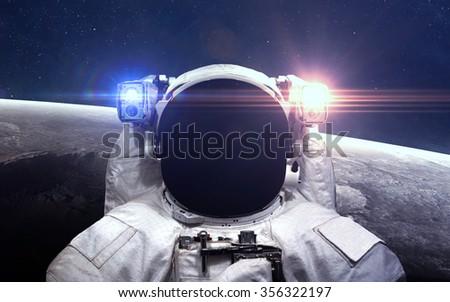 Astronaute photos et images de stock shutterstock for Outer space elements