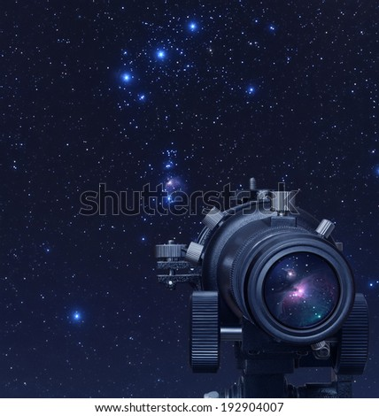 Astronomy - stock photo