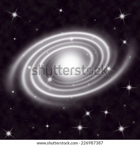 Astronomy background - stock photo