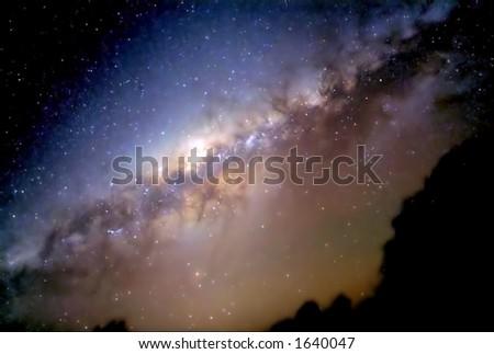 Astrophotography - stock photo