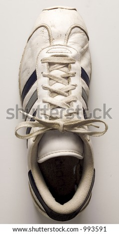 ATHLETETIC SHOE - stock photo
