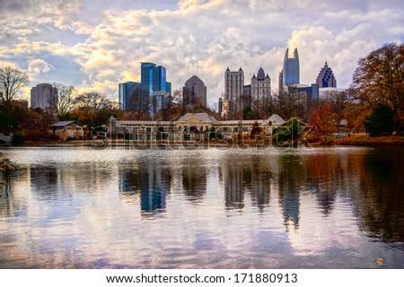 Atlanta, Georgia, USA - stock photo
