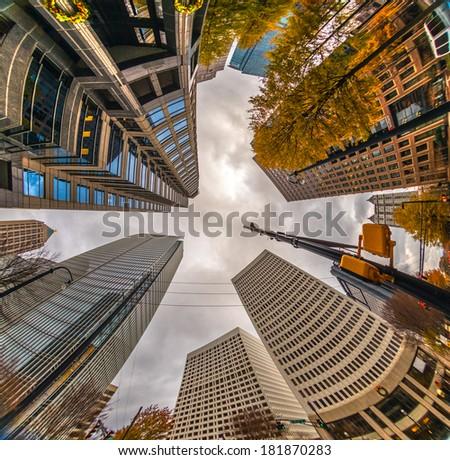 Atlanta skyscraper, USA - stock photo