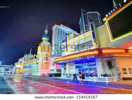 What is the gambling age in atlantic city new jersey