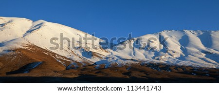Atlas Mountain landscapes in Morocco - stock photo