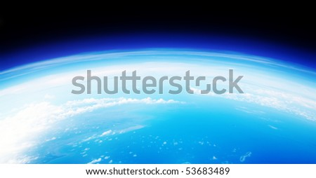 Atmosphere - stock photo