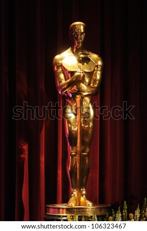 Atmosphere  at the Academy of Motion Picture Arts and Sciences press conference to announce the nominations for the 81st Academy Awards. AMPAS, Beverly Hills, CA. 01-22-09 - stock photo