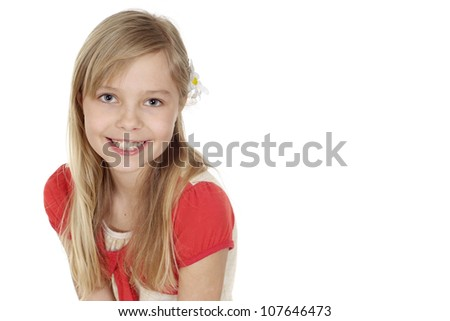Attractive female showed herself in the photos in all her glory - stock photo