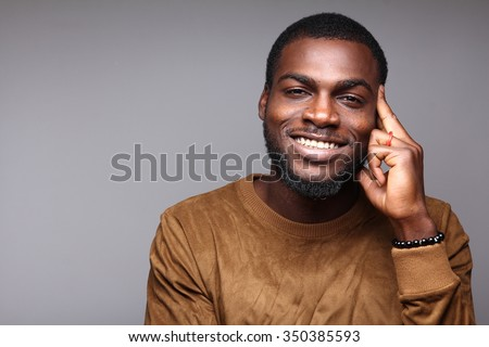 Attractive man - stock photo