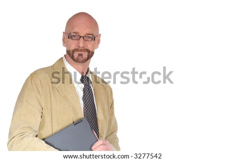 Attractive successful  bearded  middle aged businessman, Business, corporate, concept. - stock photo
