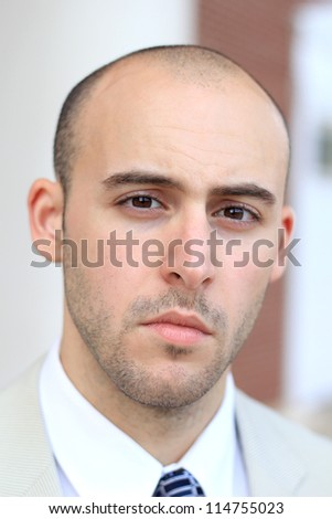 Attractive, Young Mature Professional Business Man - stock photo