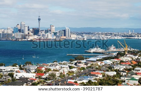 Auckland, New Zealand - stock photo