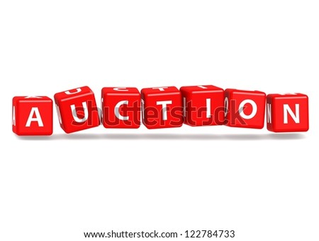 Auction - stock photo