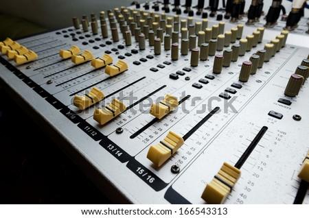 Audio equipmet - stock photo