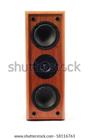 Audio speaker - stock photo