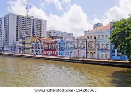 Aurora street - Recife - Pernambuco - Brazil - stock photo
