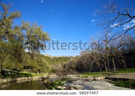 Austin Landscape - stock photo