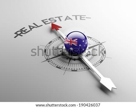 Australia High Resolution Real Estate Concept - stock photo