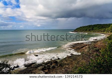 Australia, Noosa coastline - stock photo