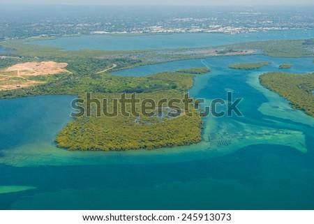 Australia's coastline - stock photo