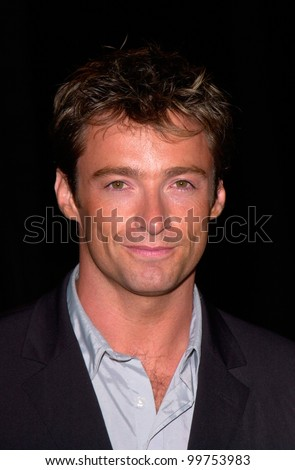 Australian actor HUGH JACKMAN at the world premiere, in Los Angeles, of Lucky Numbers. 24OCT2000.   Paul Smith / Featureflash - stock photo