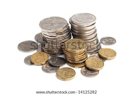 Australian coins - stock photo