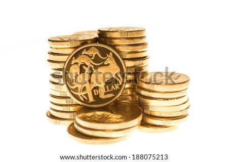 Australian Currency - stock photo
