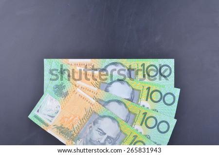Australian Dollars - stock photo
