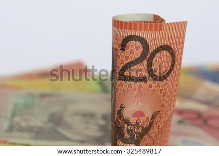 Australian Twenty Dollar Note - stock photo