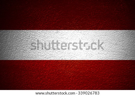 Austria Grunge Flag. old dirty wall or grunge background - stock photo