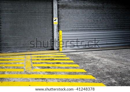 Authorized Vehicles Only - stock photo