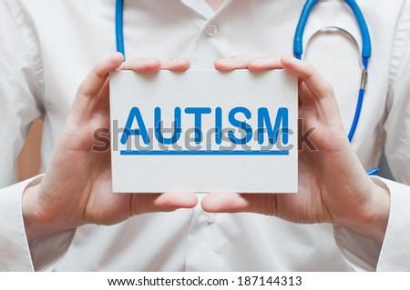 Autism - stock photo