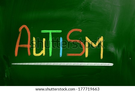 Autism Concept - stock photo