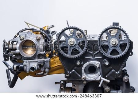 Automotive engine  - stock photo