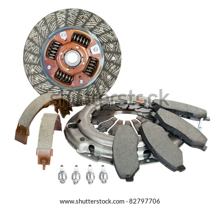 autoparts - stock photo