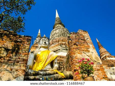 autthaya thailand - stock photo