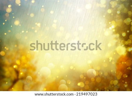 Autumn abstract background - stock photo