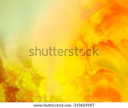 Autumn abstract background, bright and showy.  In some places a little blurred. - stock photo
