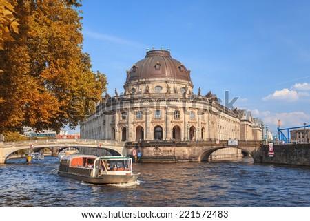 Autumn in Berlin, Germany - stock photo