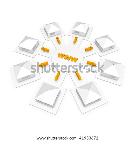 Availability of the Internet - stock photo