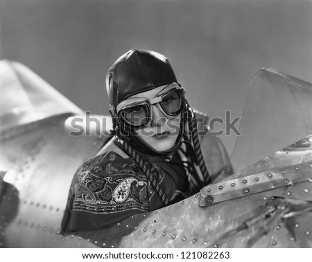 Aviatrix - stock photo