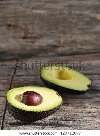avocado, - stock photo