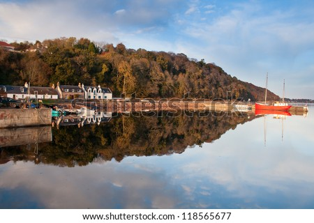 Avoch on the Black Isle, Highlands of Scotland. - stock photo