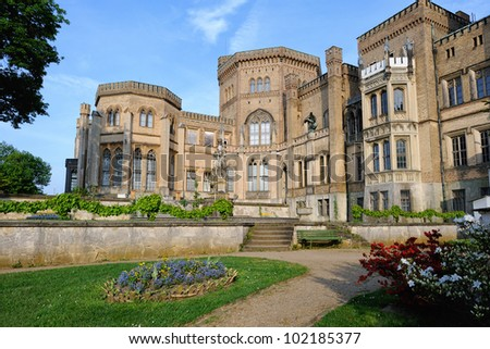 Babelsberg Palace in Potsdam, Germany. - stock photo