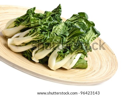 Baby Bok Choy Vegetable - stock photo
