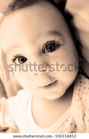 Baby boy - stock photo