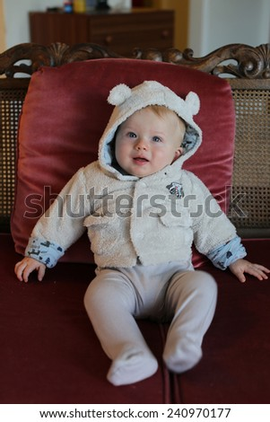 Baby boy. - stock photo